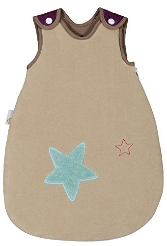 p-tit-basile-small-or-premature-baby-sleeping-bag-for-babies-size-50-cm-velours-0-1-months-100-organ