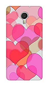 SWAG my CASE PRINTED BACK COVER FOR MEIZU M3 NOTE Multicolor