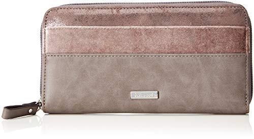 Tamaris Damen Khema Geldbörse, Pink (Mauve Comb), 10x2x19,5 cm