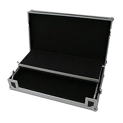 Gorilla XL Universal Pickfoam DJ Controller Carry Flight Case with Laptop Shelf & Lifetime Warranty