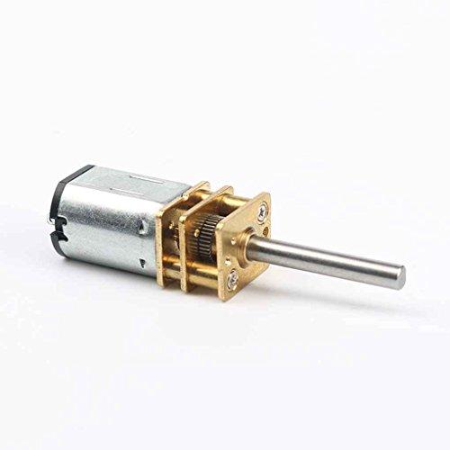 Chunyang 30rpm-1000RPM 20mm lange Achse Getriebemotor N20 Mini-DC 6V Verzögerung Motor für elektronische Schlösser Roboter