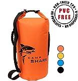 RevalCamp Dry Bag 20L Orange - Nicht Krebserregendes PVC* - wasserdichte Tasche aus TPU - Kein...