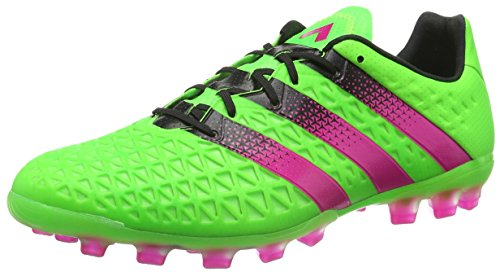 adidas Ace 16.1 Ag, Chaussures de Football Homme, Mehrfarbig Multicolore - Verde / Rosa / Negro (Versol / Rosimp / Negbas)
