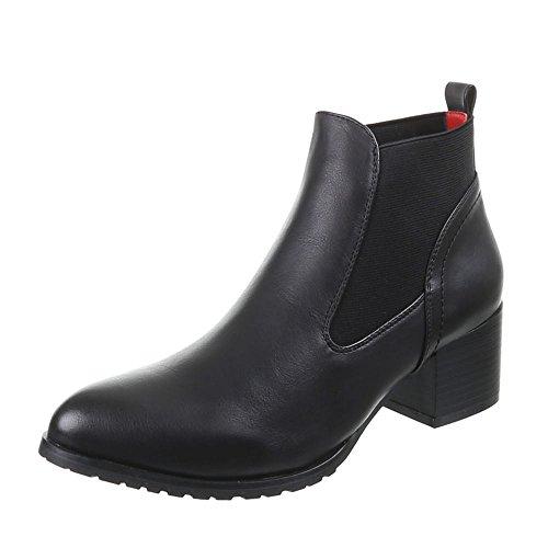 Chaussures, 624–gA-femme Noir - Noir