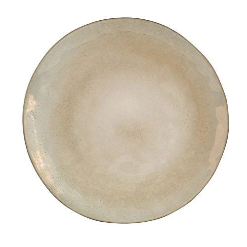 Sibo Homeconcept - Nori Ass Plate 28 cm Vert (Lot de 4)
