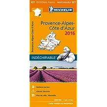 Carte Provence-Alpes- Côte d Azur 2016 Michelin