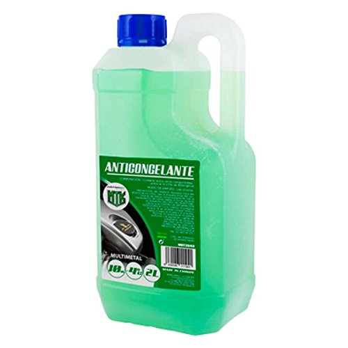 Motorkit MOT3543 Anticongelante 10% -4º, Verde, 2 litros