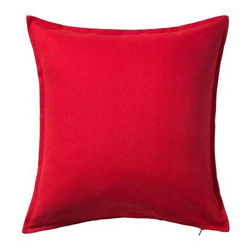 IKEA-– Kissenbezug, rot–50x 50cm, 2er-Packung