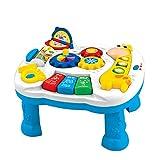 GALOOK Tavolo di apprendimento Musicale Baby Toy - Giocattolo di educazione Elettronica per i più Piccoli attività di Sviluppo precoce, apprendimento Multifunzionale e Tavolo da Gioco per Bambini