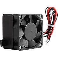 Cafopgrill Temperatura Constante Calentador de Ventilador eléctrico Ventilador PTC Calentador automático Incubador de Calentador de Espacio pequeño(24V 250W)