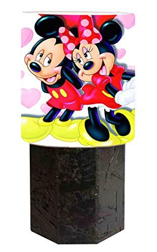 Abat jour schwarz Minnie und Mickey - Minnie Maus-markt