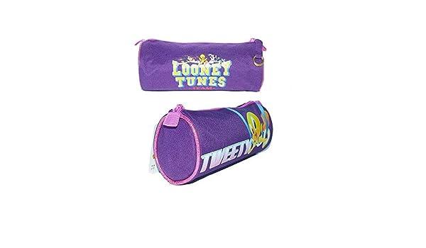 Tombolino Portacolori per la Scuola o il Disegno in Tessuto Looney Toons Tweety