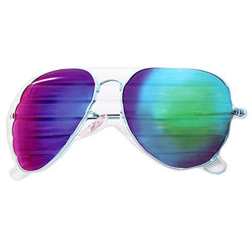 QHWJ Wasser aufblasbare schwimmende Reihe, riesige Sonnenbrille aufblasbare schwimmende Bett PVC-aufblasbare Gläser schwimmende Reihe Schwimmbecken schwimmende Bett Erwachsene Liege