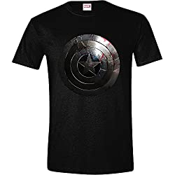 Camiseta Capitan America Silver Shield