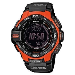Casio Pro Trek 4971850919827 PRG-270-4ER Reloj de Pulsera para hombres Con brújula de Casio Pro Trek