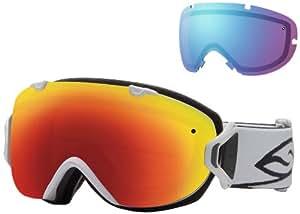 SMITH OPTICS Erwachsene Skibrille I/OS SPH, White, M006447ME99C1