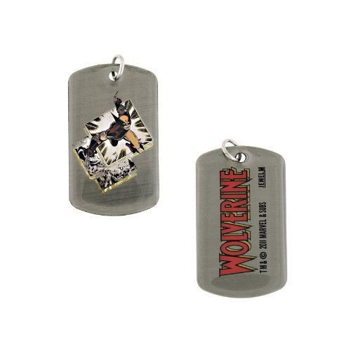 New Series Marvel Comics Wolverine Dogtags Dog Tag Double-sided by Jewel M