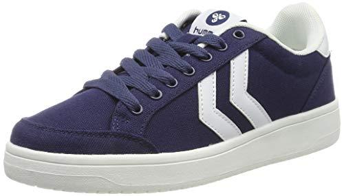 hummel Nassau, Sneakers Basses Mixte Adulte, Bleu (Astral Aura 4129), 41 EU