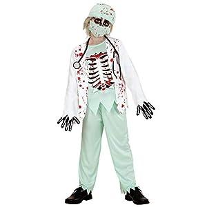 WIDMANN 05768?Disfraz de Chirurgo Zombie (Talla 11/13años