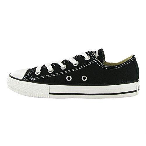 Converse Chuck Taylor All Star Season Ox, Unisex Sneaker Schwarz (Black)