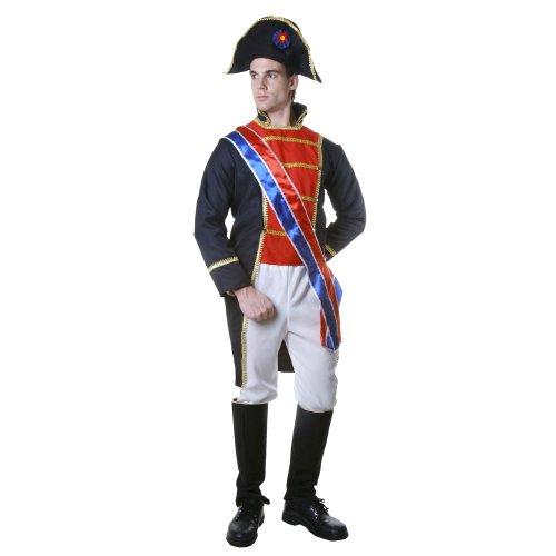 Dress up America Realistisches Napoleon-Kostümset - XXL (Bürgerkrieg Soldat Kostüm)