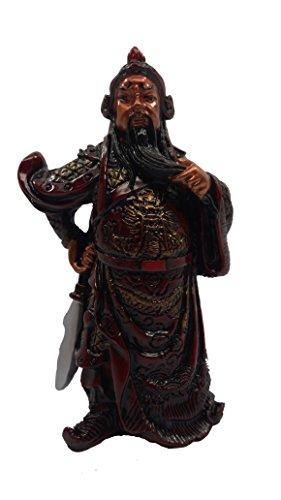 feng-shui-cinese-rosso-resina-general-kwan-kong-kuan-kong-statua-102-cm-tal