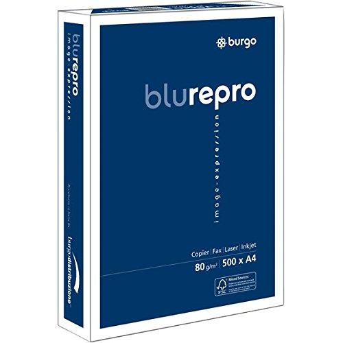 Burgo 8131 Carta Repro Fsc, Repro 80, A4, 80 G/Mq, 104 µm, Confezione da 5