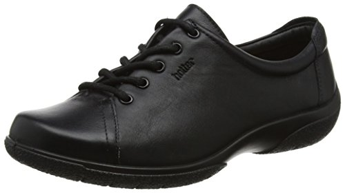 Hotter Dew EXF, Scarpe Stringate Oxford Donna Black (Jet Black)
