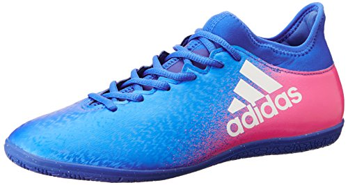 Adidas X 16.3 IN Blue / FTWR White / Shock Pink
