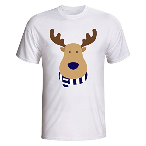 Mens North End (Preston North End Rudolph Supporters T-shirt (white))