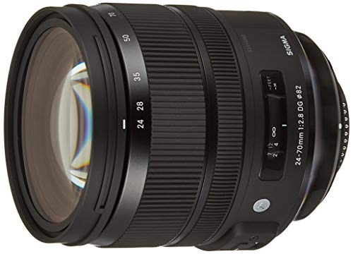 Sigma Objectif 24-70mm F2,8 DG OS HSM Art - Monture Nikon