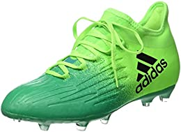 adidas X 16.1 Fg J, Scarpe per Allenamento Calcio Unisex – Bambini, Verde (