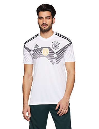 adidas Herren Dfb Home 2018 Trikot, White/Black, 3XL