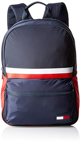 Tommy Hilfiger Herren Sport Mix Backpack Corp Geldbörse, Blau (Corporate), 1x1x1 cm