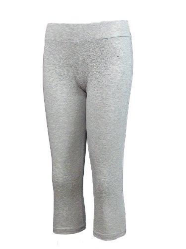 Brody & Co. Damen Leggings braun weiß 34/36 Grau