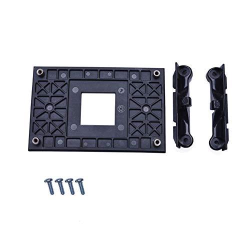 Placa trasera profesional, soporte para ventilador de CPU estable, soporte para AM4