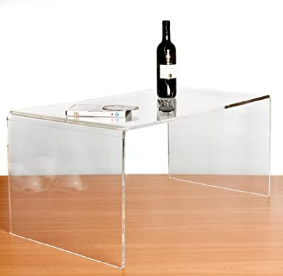 Clear Acrylic Coffee Table - inexpensive UK light store.