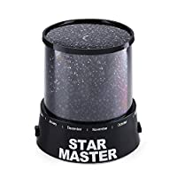 Star Sky Starry Night Light Amazing LED Colorful Gift For Children Kids Baby Sleep Romantic Led Projection lamp Master Table Light Projector Desk Night Lamp Bedroom Led Night Light