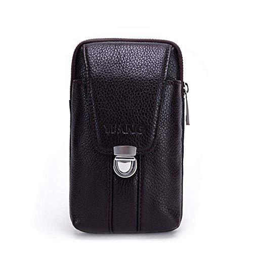 LXDDP Vertikale Gürteltasche - Handytasche Vertikale Smartphone-Holstertasche mit Clip Brieftasche mit Hakenschlaufe Für Männer Frauen Erwachsene, The Black Friday