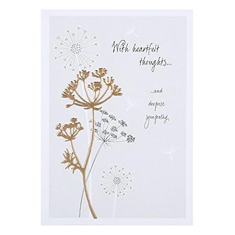 Hallmark Carte de condoléances