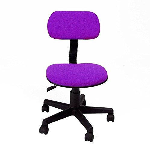 GreenForest Computer Typist Stuhl Sitz Büro Operator Rest Rückenlehne Study Schreibtisch Stühle lila