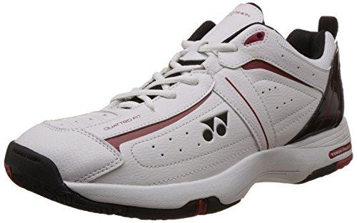 Yonex SHT Soft Tennis Shoes, Junior UK 4.5 (white/Black)  available at amazon for Rs.3522