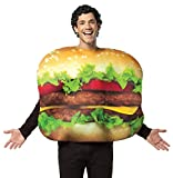 Hamburger Cheesburger Kostüm in Einheitsgröße Fasching Karneval