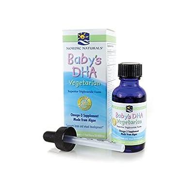 Baby's DHA, Vegetarian, 1 fl oz (30 ml) - Nordic Naturals