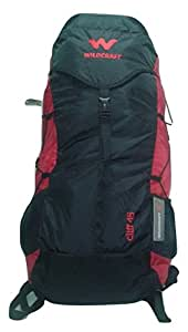 Wildcraft 45 Ltrs Red Rucksack (10734 Red Cliff 45 New)
