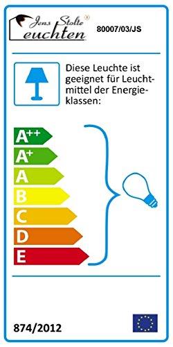 Edle Deckenleuchte im Jugendstil JS1/3/108 Deckenlampe