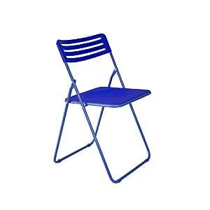AARTIN - imax series - Multipurpose Folding Plastic Chair - Blue