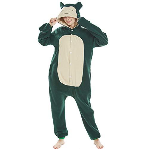 Kostüm Snorlax Mädchen - Snorlax Kabi Bestie Pyjamas Bekleidung Animal Erwachsene Unisex Schlafanzüge Karneval Onesies Cosplay Jumpsuits Anime Carnival Spielanzug Kostüme Weihnachten Halloween Nachtwäsche Mädchen