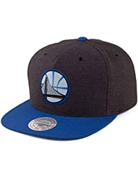Mitchell   Ness Gorra Snapback Woven Reflective Golden State Warriors  Antracita-Azul ee5bceeb64a