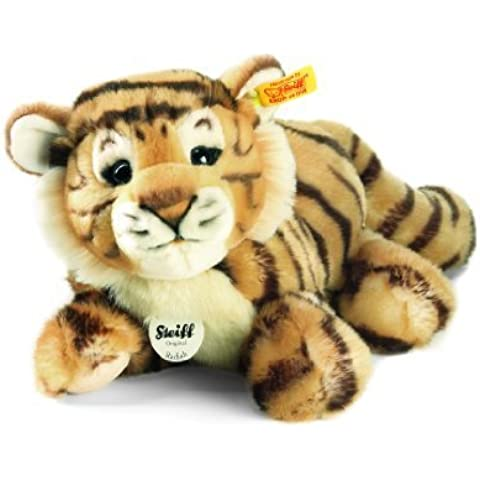 Steiff Radjah Baby Dangling Tiger Plush, Striped by Steiff